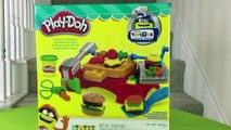 Play Doh Cookout Creations Playdough make Hotdogs Hamburgers Chicken with Play doh