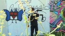 Berlin: des tags nazis changés en graffitis