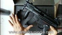 WELL M5K Gas BlowBack Rifle (G55) by airsoft gun india