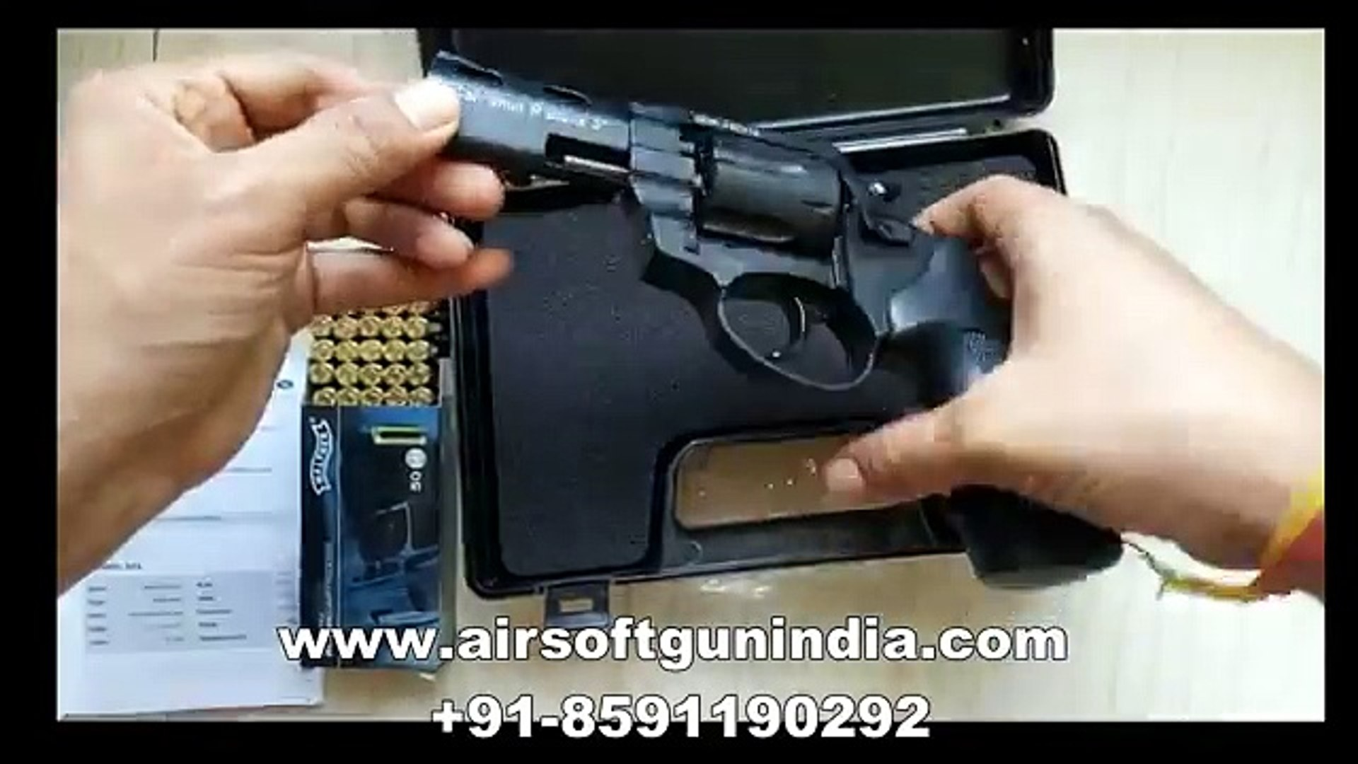 ZORAKI R2 9mm blank revolver by airsoft gun india