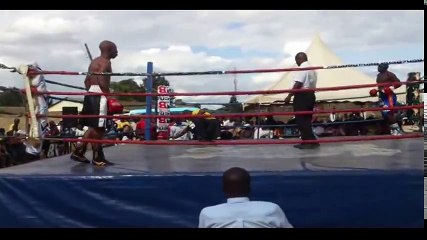 Nick Otieno Kanyank'ole Baliga vs John Gitau Boxing Match