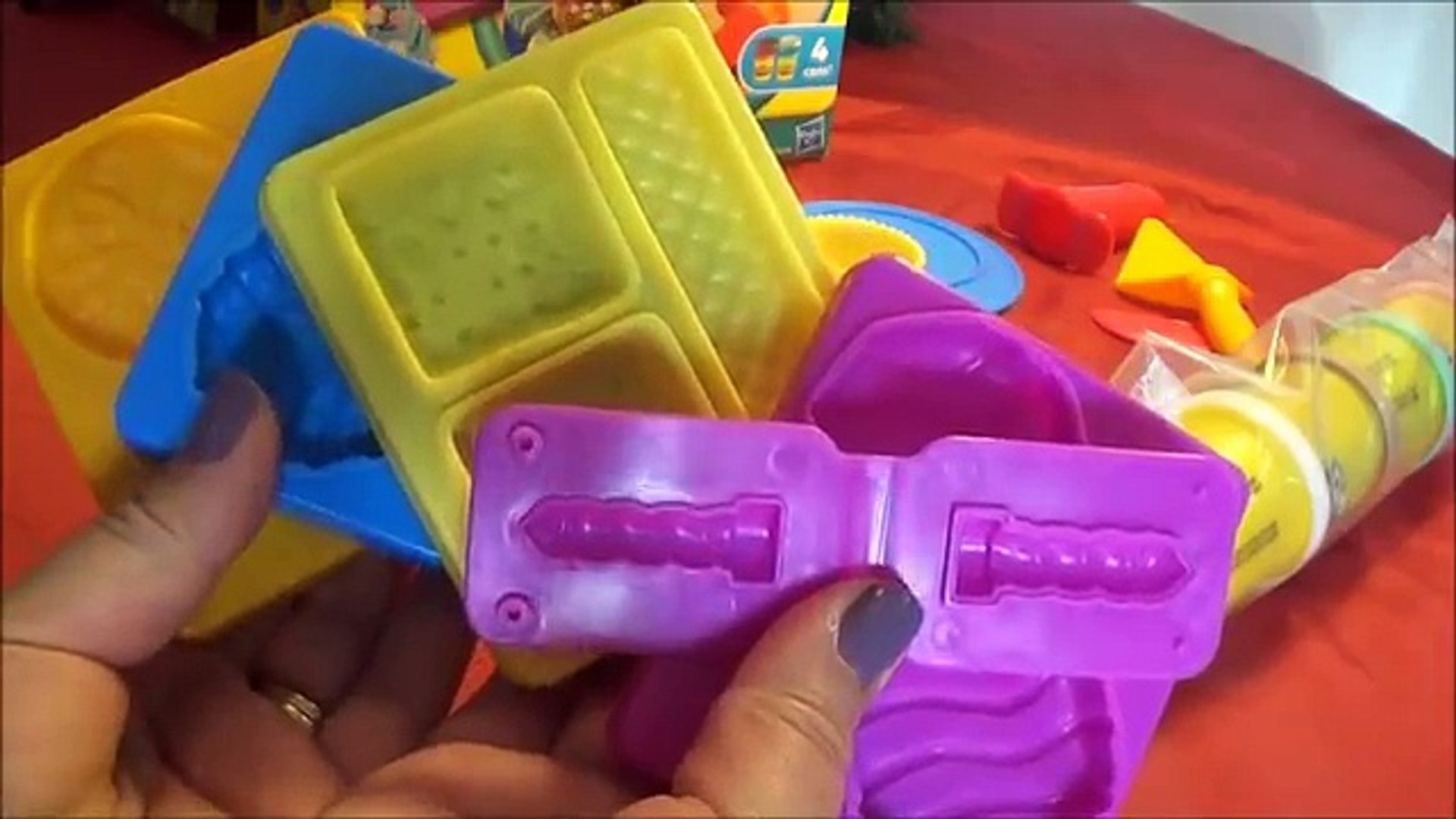 Печенье де де по из также доч ан s печенье пластилин играть играть-DOH español