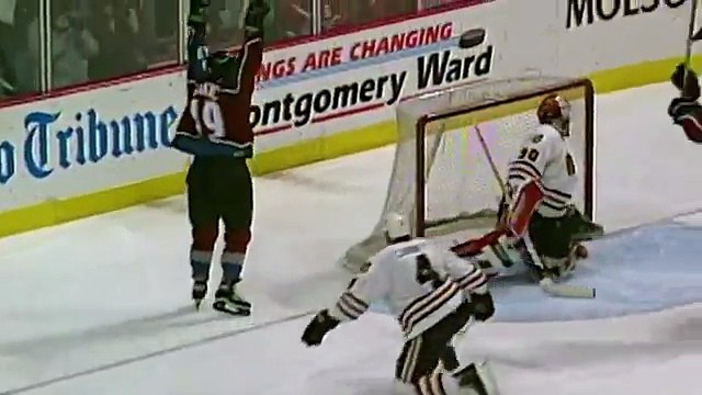 Memories: Sakic scores his 7th career overtime winner