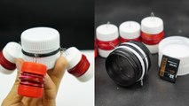 How to Make Plastic Bottle Cap Container