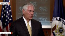 Tillerson: 'Neither The President Nor I Were Very Happy' About Russia Sanctions Bill