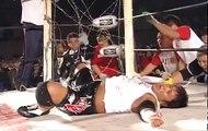 BJW - Shadow WX vs Yuko Miyamoto (Explosion Barbed Wire Blast Death Match) 12-19-2008