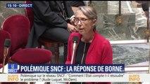 """Panne SNCF: """"L'identification de la panne et l'information des voyageurs n'ont pas été satisfaisantes"""", selon la ministre des Transports"""