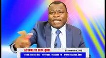 Actu Expliquée du 01Nov : Le petit fils de Lumumba balance le fils de Kanambe Part2