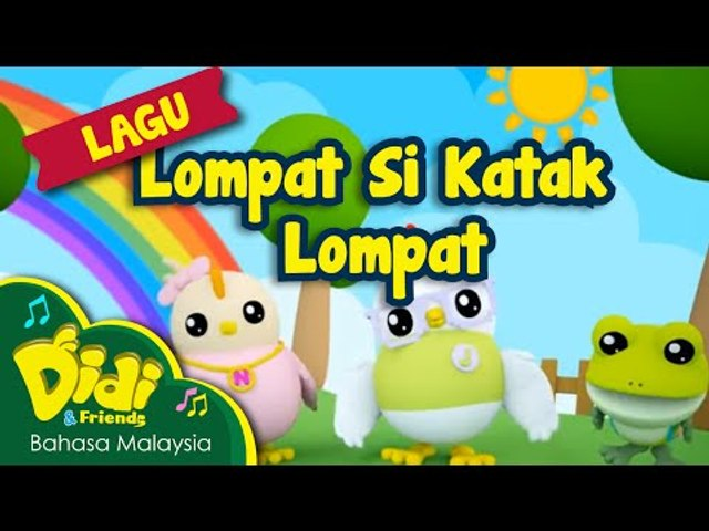 Lagu Kanak Kanak | Lompat Si Katak Lompat | Didi & Friends