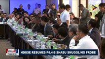 House resumes P6.4-B Shabu smuggling probe