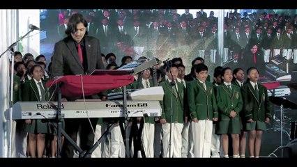 Shanti Samsara LIVE & Exclusive for President of India | Ricky Kej