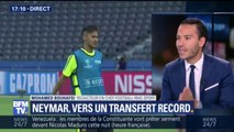"""Neymar au PSG: """"Attendu demain à Paris. La tendance est à une présentation samedi avant PSG-Amiens au Parc des Princes"""""""