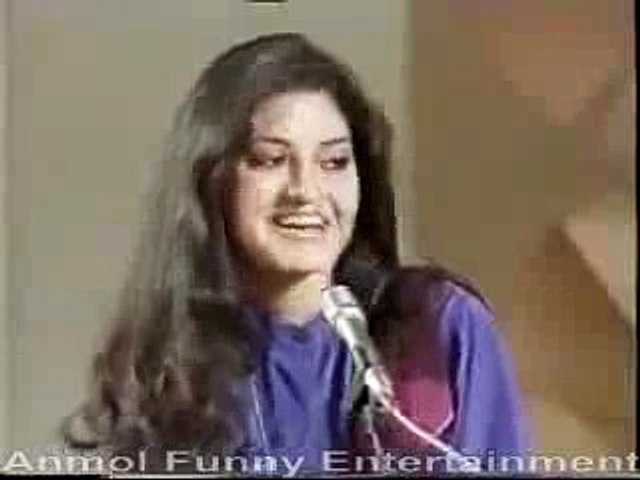 Very Funny Clip-Legends Moeen Akhtar and Nazia Hassan-