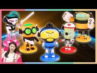 凱利的迷你特工 T-BUSTER,teaser Pla model 變形機器人找雙胞胎的玩具遊戲 | 凱利和玩具朋友們 | 凱利TV