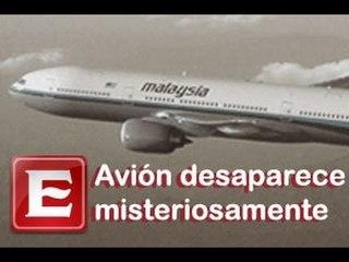 Desaparece avión de Malaysia Airlines; continuán sonando celulares
