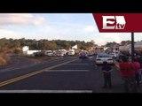 Por segundo día consecutivo bloquean carretera en Michoacán / Gloria Contreras