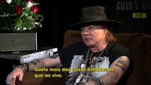 Guns N Roses Interview Axl Rose & Duff McKagan (2016)