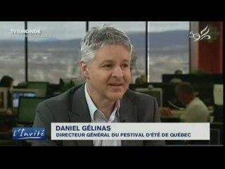 """Daniel Gélinas :  """"Le Québec et la France sont unis par la chanson"""""""