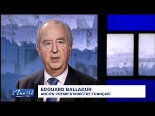 Edouard Balladur rend hommage à Georges Pompidou