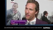 Sam Shepard décédé : Matthew McConaughey apprend sa mort en pleine interview (Vidéo)