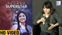 Zaira Wasim Shares Experience Working On Secret Superstar