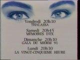 FR3 - 25 Janvier 1991 - Publicités, Bandes annonces, Soir 3, Météo