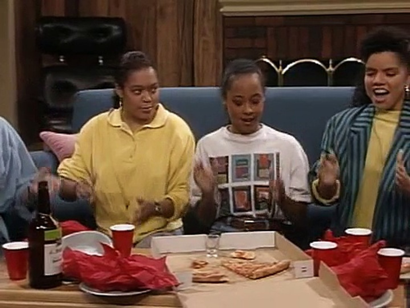 The Cosby Show S06E03 I'm 'ın' With The 'ın' Crowd