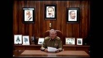 Raul Castro: Fidel Castro Death Announcement Video #Cuba