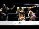 Blue Panther, Ángel de Oro y Valiente vs. Mr. Águila, Psicosis y Morphosis 16/03/13