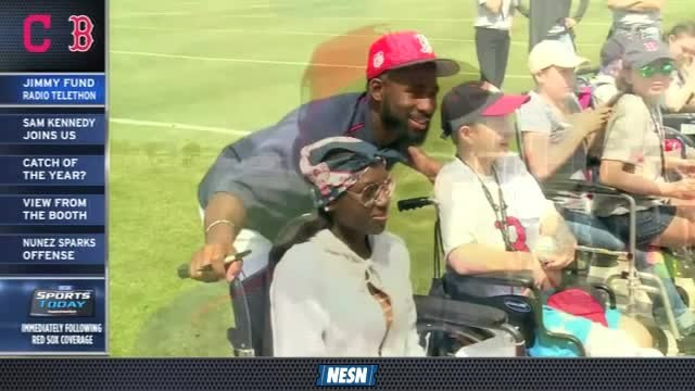 Red Sox First Pitch: Jimmy Fund Radio-Telethon Special