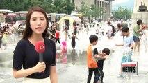 Hot weather and heatwave warnings across Korea
