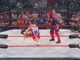TNA: Suicide and Amazing Red Win