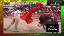 TERRIBLE Bull Fighting Accidents With Man - Best Funny Videos Bullfighting Accidents  Part 2