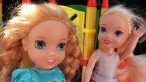 Et gelé héros dans kidnappé farce les tout-petits jouets difficulté scélérats Anna elsa joker 1 dc