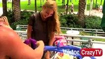 Removing Hot Girl's BRAS Prank - Sexual Pranks - Magic Bra Prank 2015 - Unhooking Cutting Bras