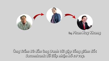 Quá trình rút ruột 1.800 tỷ từ ngân hàng Sacombank của Trầm Bê