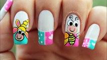 Abeille ongle ongles abeilles abeilles décoration art comme la peinture art  
