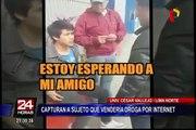 Capturan a sujeto que vendía droga en conocida universidad de Los Olivos