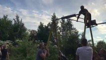 360-Degree Swings Are All Fun And Games Until You Let Go