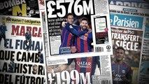 Neymar au PSG : la folle revue de presse du transfert du siècle