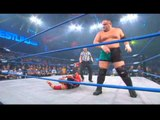 Samoa Joe vs. The Amazing Red
