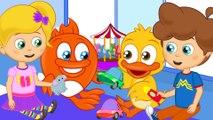 Paylaş Onlar Arkadaş - Sevimli Dostlar Çocuk Videoları | Okidokido