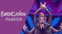 Artsvik - Fly With Me (Armenia) 2017 Grand Final - Eurovision Painter