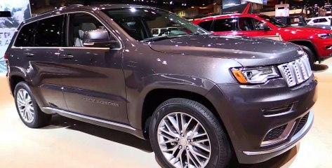 2017 Jeep Grand Cherokee Summit California - Exterior Interior Walkaround - 2017 Chicago Auto Show