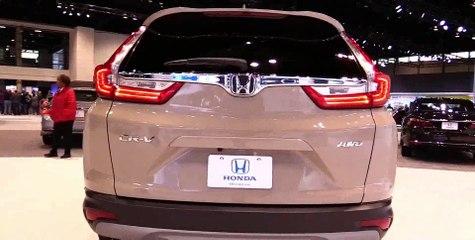 2017 Honda CRV EX - Exterior and Interior Walkaround - 2017 Chicago Auto Show