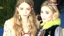 Olsen twins Mary Kate Olsen, Ashley Olsen arrive at 2017 Met Gala