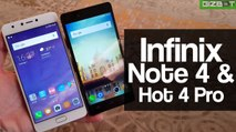 Infinix Note 4 and Hot 4 Pro First Impressions