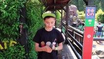 VLOG - Petites SENSATIONS FORTES pour Néo !  TIMBER DROP à FRAISPERTUIS City Parc d'Attractions