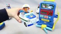 Coche divertido Niños Policía juguetes juguete Pororo policía RoboCar estaciones de llenado de poliéster Pororo Robocar Poli мультики про машинки