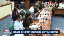 Senate conducts hearing on TNVS issues